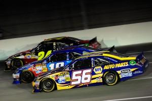 2012_Kentucky_June_NASCAR_Sprint_Cup_Series_Race_Threewide_Jeff_Gordon_Kyle_Busch_Martin_Truex_Jr