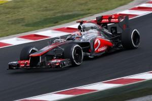 Jenson Button at Hungarian Grandprix