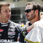 chad-knaus-jimmie-johnson-daughter-brickyard-2012