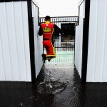 clint-bowyer-puddle-nascar-pocono-august-2012