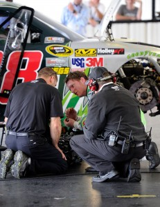 dale-earnhardt-jr-garage-pocono-august-2012