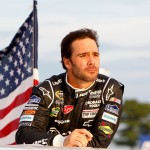 jimmie-johnson-american-flag-nascar-atlanta-2012