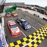 2012 Martinsville2 Jimmie Johnson Leads Field to Green Flag
