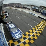 2012 Martinsville2 Jimmie Johnson Takes Checkered Flag