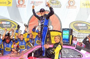 2012_Talladega_Matt_Kenseth_Celebrates_In_Victory_Lane