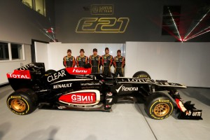 Lotus F1 Team 2013 Launch