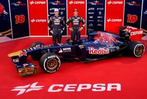 Toro Rosso F1 Launch