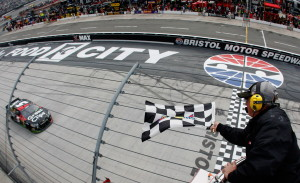 2013 Bristol March Kasey Kahne Takes Checkered Flag