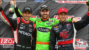 Podium St Pete 300x169 IndyCar: Analyse 1. Rennen in St. Petersburg