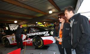 Roma-Downey-Mark-Burnett-Martinsville-NASCAR-April-2013