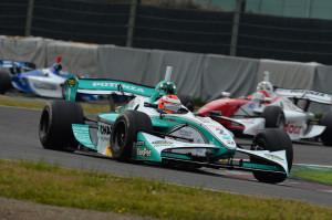 Super Formula Suzuka 2013 James Rossiter