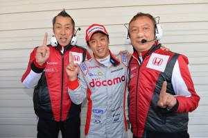 Super Formula Suzuka 2013 Takuya Izawa Docomo Team Dandelion Racing