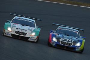 Super GT Fuji 2012 Lexus Battle