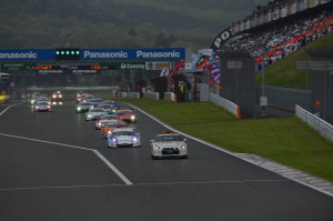 Super GT Fuji 2012 Start