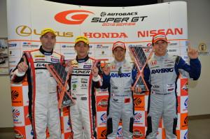 Super GT Okayama 2013 Winners