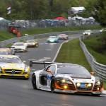 Frank Biela / Christer Joens / Luca Ludwig / Roman Rusinov (G-Drive Racing by Phoenix, Audi R8 LMS ultra, Startnummer 3), 41. ADAC Zurich 24h-