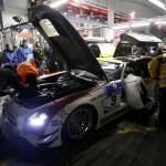 Bernd Schneider / Jeroen Bleekemolen / Sean Edwards / Nicki Thiim (Black Falcon, Mercedes-Benz SLS GT3, Startnummer 9)