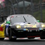 Richard Westbrook / Emmanuel Collard / Mike Stursberg / Hans Guido Riegel (Haribo Racing Team, Porsche 911 GT3 R, Startnummer 8),