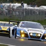 Michael Ammermueller / Frank Stippler / Ferdinand Stuck / Johannes Stuck (Phoenix Racing, Audi R8 LMS ultra, Startnummer 4)