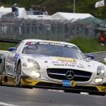 Klaus Graf / Thomas Jaeger / Jan Seyffarth / Nico Bastian (ROWE Racing, Mercedes-Benz SLS GT3, Startnummer 22)