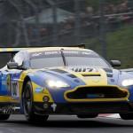 Darren Turner / Stefan Muecke / Allan Simonsen / Pedro Lamy (Aston Martin Racing, Aston Martin Vantage GT3, Startnummer 7),