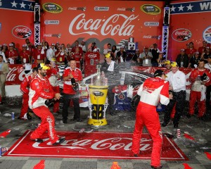 Kevin-Harvick-richard-childress-spray-Coca-Coca-600-NASCAR