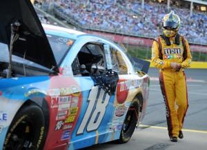 Kyle-Busch-red-flag-Coca-Coca-600-NASCAR
