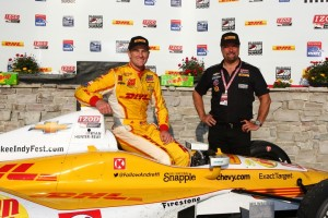 Ryan Hunter-Reay, Michael Andretti (C) Chris Jones/IndyCar Media