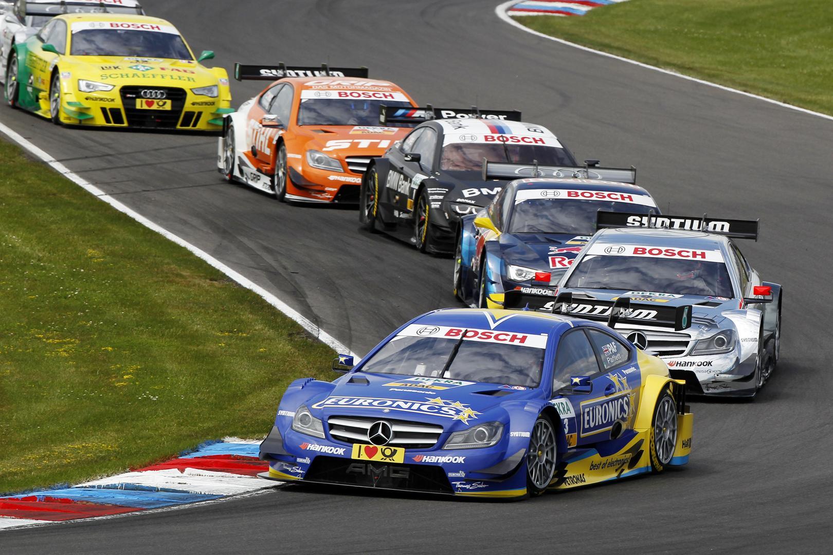 3 Gary Paffett (GB), HWA, DTM Mercedes AMG C-Coupé