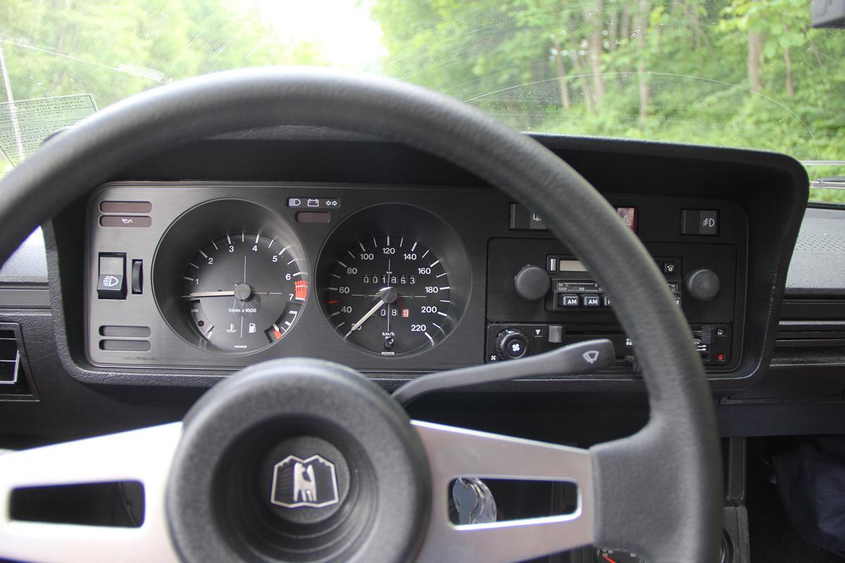 Auto cockpit vw  VW Scirocco LS 1977 Cockpit - Racingblog