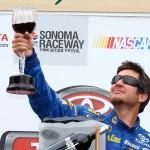 Martin-Truex-Jr-goblet-Toyota-Save-Mart-NASCAR-Sprint-Cup-Series