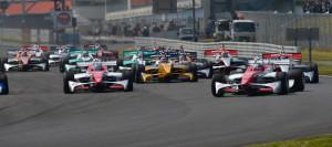 Super Formula 2012 Autopolis Start