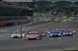 Super GT Malaysia 2012 GT500 Start