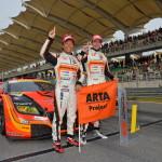 Super GT Malaysia 2013 ARTA CR-Z GT GT300  Winner