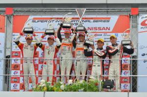 Super GT Malaysia 2013 GT300 Podium