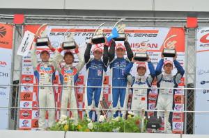 Super GT Malaysia 2013 GT500 Podium
