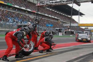 Motorsports / DTM 2012, 2. Race at Lausitzring
