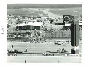 Boxenanlage 1971 (c) Pocono Raceway