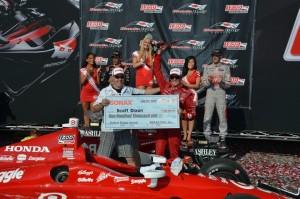 Doppelsieger Scott Dixon  (c) John Cote/IndyCarMedia