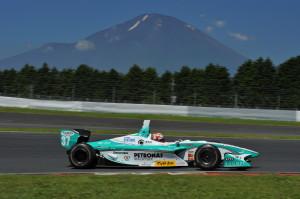 Super Formula Fuji 2011 Kazuki Nakajima