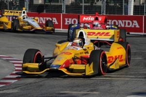 Vorjahressieger Ryan Hunter-Reay (C) Firestone Racing/Dennis Ashlock