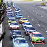 Flagstand-green-NASCAR-Sprint-Cup-Series-Pocono-GoBowling400