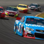 Kasey-Kahne-leads-NASCAR-Sprint-Cup-Series-Pocono-GoBowling400