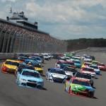 Pocono-Turn-1-NASCAR-Sprint-Cup-Series-Pocono-GoBowling400