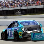 Ricky-Stenhouse-Jr-Crash-NASCAR-Sprint-Cup-Series-Pocono-GoBowling400