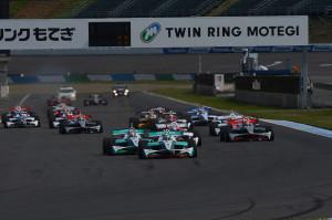 Super Formula Motegi 2012 Start