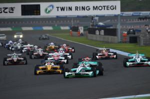 Super Formula Motegi 2013 Start