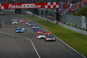 Super GT Suzuka 2012 GT500 Start