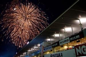 Super GT Suzuka 2013 Fireworks