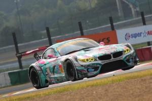 Super GT Suzuka 2013 GSR Hatsunemiku BMW